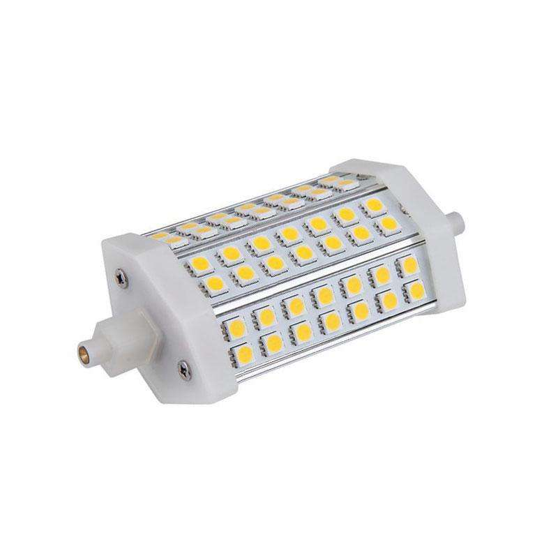 Bombilla LED R7S, 9W, 42xSMD5050, 118mm, Blanco neutro